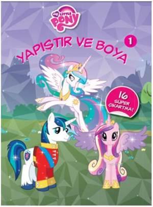 My Little Pony; Yapıştır Ve Boya 1