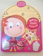 Kek Perisi Karamela Çıkartmalı Boyama Kitabı