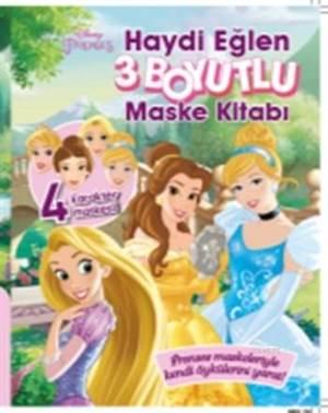 Disney Prenses 3 Boyutlu Maske Kitabı - Haydi Eğlen
