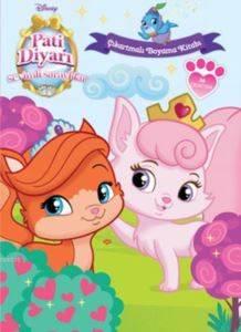 Disney Sevimli Saraylılar Pati Diyarı - Çıkartmalı Boyama Kitabı