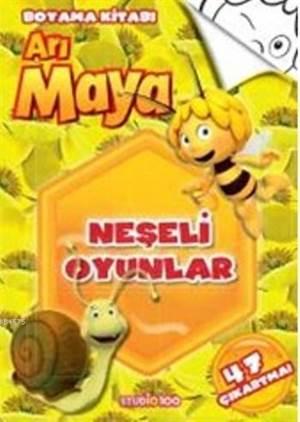 Arı Maya Neşeli Oyunlar Boyama Kitabı