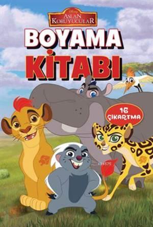 Disney Aslan Koruyucular Boyama Kitabı