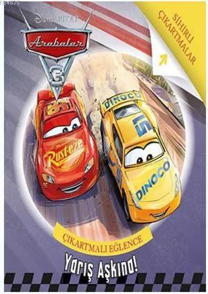 Disney Arabalar 3 - Yarış Aşkına; Çıkartmalı Eğlence