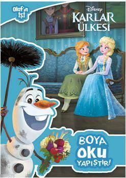 Disney Karlar Ülkesi - Olaf'ın İşi Boya Oku Yapıştır