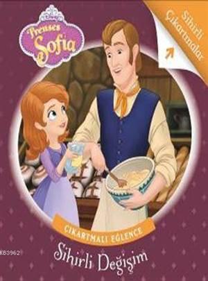 Disney Prenses Sofia Sihirli Değişim - Çıkartmalı Eğlence