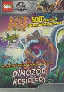 Lego Jurassic World Çıkartmalı Faaliyet Ve Bulmaca Kitabı - Dinozor Keşifleri