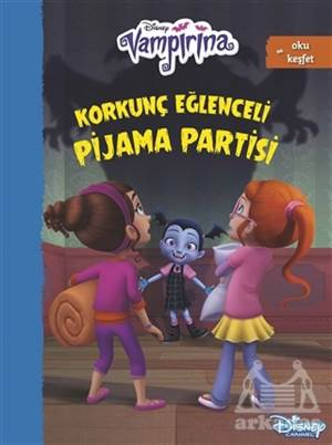 Disney Vampirana Korkunç Eğlenceli Pijama Partisi
