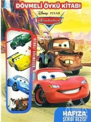 Disney Arabalar Dövmeli Öykü Kitabı