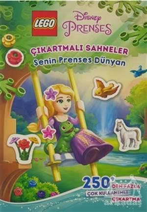 Lego Disney Prenses Çıkartmalı Sahneler - Senin Prenses Dünyan