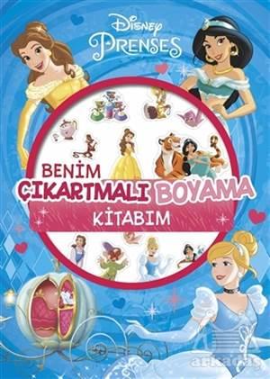 Disney Prenses - Benim Çıkartmalı Boyama Kitabım