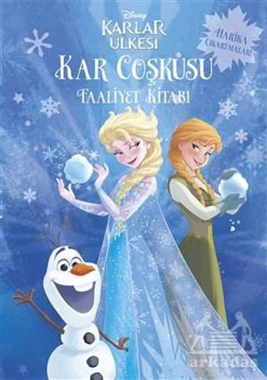 Disney Karlar Ülkesi - Kar Coşkusu Faaliyet Kitabı