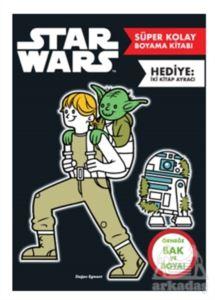 Star Wars Süper Kolay Boyama Kitabı