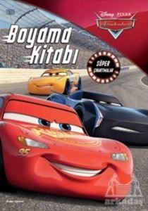 Disney Pixar Arabalar Boyama Kitabı Süper Çıkartmalar