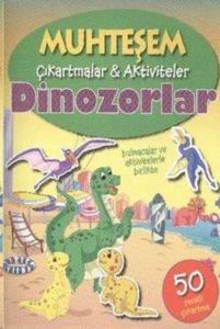 Muhteşem Çıkartmalar Aktiviteler - Dinozorlar