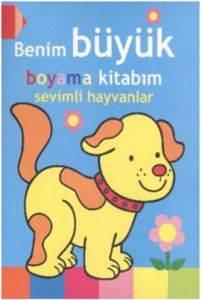 Benim Büyük Boyama Kitabım - Sevimli Hayvanlar
