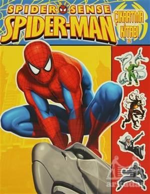Spider-Sense Spiderman Çıkartma Kitabı 2