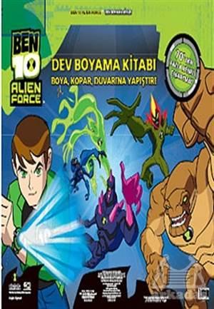 Ben10 Alien Force Dev Boyama Kitabı