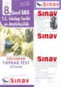 8. Sınıf T.C. İnkılap Tarihi ve Atatürkçülük Çek Kopar Yaprak Test (32 Adet)