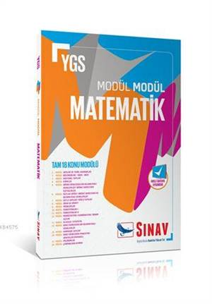YGS Modül Modül Matematik