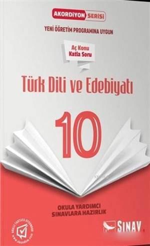 10.Sınıf Türk Dili Ve Edebiyatı Akordiyon