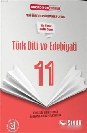 11.Sınıf Türk Dili Ve Edebiyatı Akordiyon