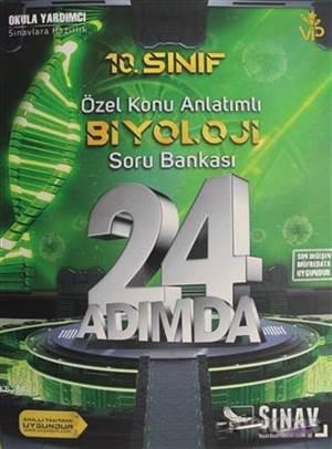 10.Sınıf 24 Adımda Biyoloji Soru Bankası