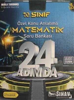10.Sınıf 24 Adımda Matematik Soru Bankası