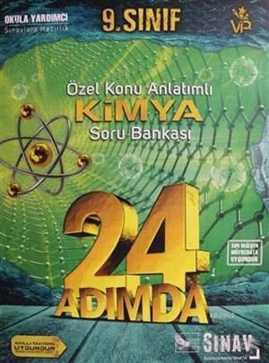 9.Sınıf 24 Adımda Kimya Soru Bankası