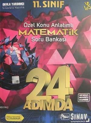 11.Sınıf 24 Adımda Matematik Soru Bankası