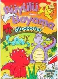 Büyülü Boyama - Dinozorlar