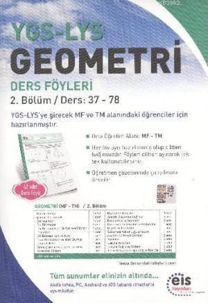 YGS LYS Geometri; Ders Föyleri MF TM 2.Bölüm Ders:37 - 78