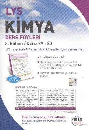 LYS Kimya; Ders Föyleri 2.Bölüm Ders: 39 - 80
