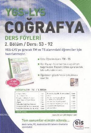 YGS LYS Coğrafya; Ders Föyleri 2.Bölüm Ders: 53 - 92
