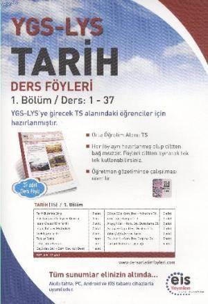 YGS LYS Tarih; Ders Föyleri 1.Bölüm Ders: 1 - 37