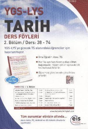 YGS LYS Tarih; Ders Föyleri 2.Bölüm Ders: 38 - 74