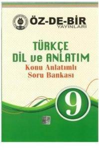 Özdebir 9 Sınıf Türkçe Dil Ve Anlatım Konu Anlatımlı Soru Bankası