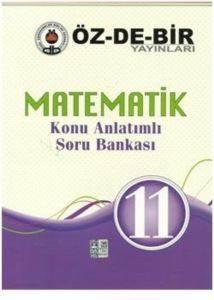 Özdebir 11 Sınıf Matematik Konu Anlatımlı Soru Bankası