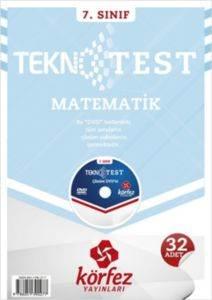 Körfez 7.Sınıf Matematik Tekno Poşet Test Çözüm (DVD'li)