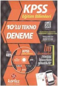 Körfez Kpss 2014 Eğitim Bilimleri Tekno Deneme (10'lu) Dvd'li
