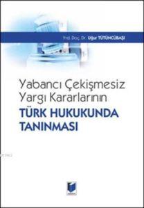 Yabancı Çekişmesiz Yargı Kararlarının Türk Hukukunda Tanınması (Ciltli)