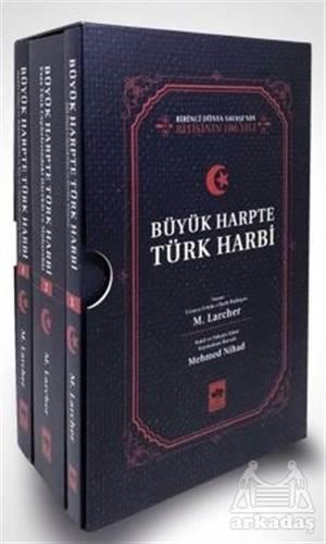 Büyük Harpte Türk Harbi (3 Cilt Takım)