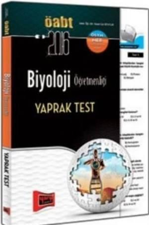 ÖABT KPSS Biyoloji Öğretmenliği Yaprak Test 2016