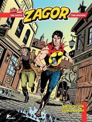 Zagor Maxi 17; New York Sokakları