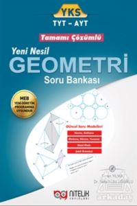 YKS TYT AYT Geometri Tamamı Çözümlü Soru Bankası 2018-2019