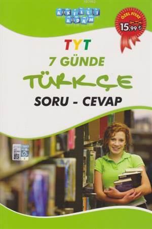 TYT 7 Günde Türkçe Soru Çözüm