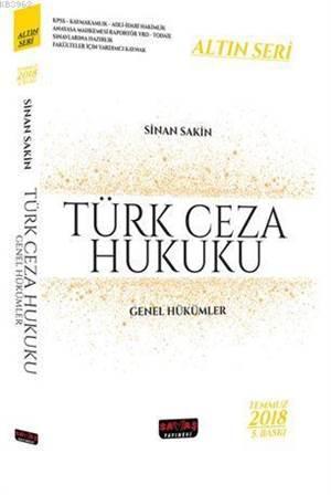 Türk Ceza Hukuku G ...