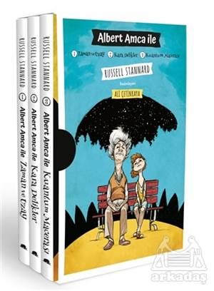 Albert Amca İle: Zaman Ve Uzay - Kara Delikler - Kuantum Macerası Seti (3 Kitap Takım)