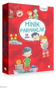 Minik Parmaklar (Düz Yazı ) 1.Sınıf 10 Kitap
