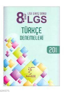 2018 LGS 8. Sınıf Türkçe Denemeleri; 20 Deneme