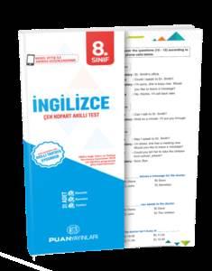 8. Sınıf İngilizce Çek Kopart Akıllı Test
